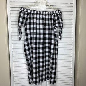 LOFT - Plaid Shirt Dress 👗